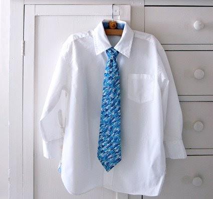 Make a little boy's tie | How About Orange