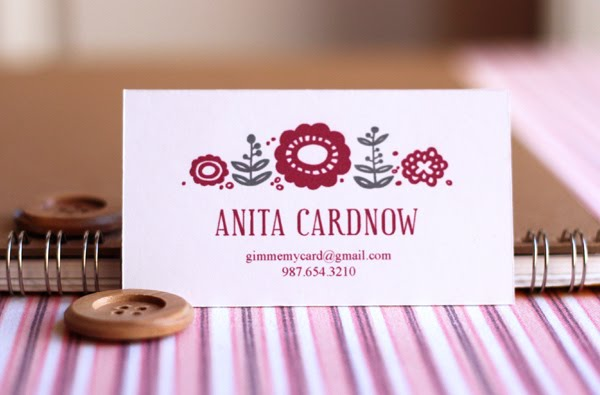 Printable Calling Card Freebie