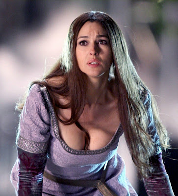 Monica Bellucci as a delicious witch in The Sorcerer's Apprentice