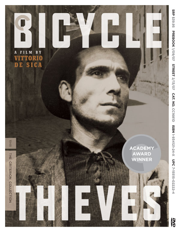 """italian neorealism bicycle thief essays Film theorist andre bazin in his essay neorealism and pure cinema: the bicycle thieves (bazin, 2007) defined bicycle thieves as """"pure cinemait tells a simple story composed of real events involving real people in real places"""" this is another way that the film can be seen as an ideal example of neo-realism the film includes characters that the italian people of the time could relate to."""