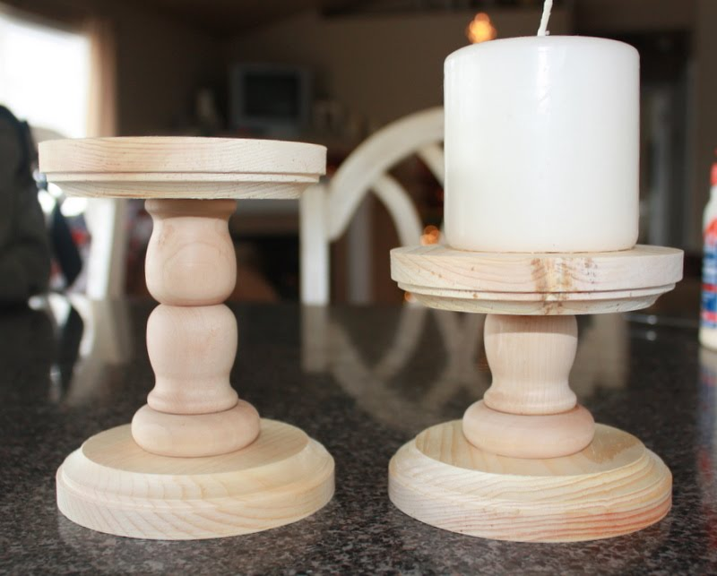Country Girl Home Handmade Candle Holders