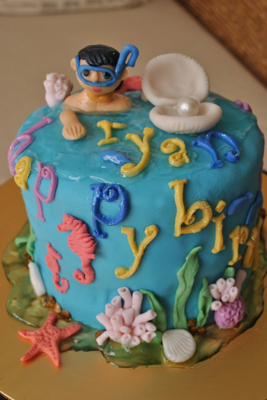 Cake Inc Underwater World Birthday Cake