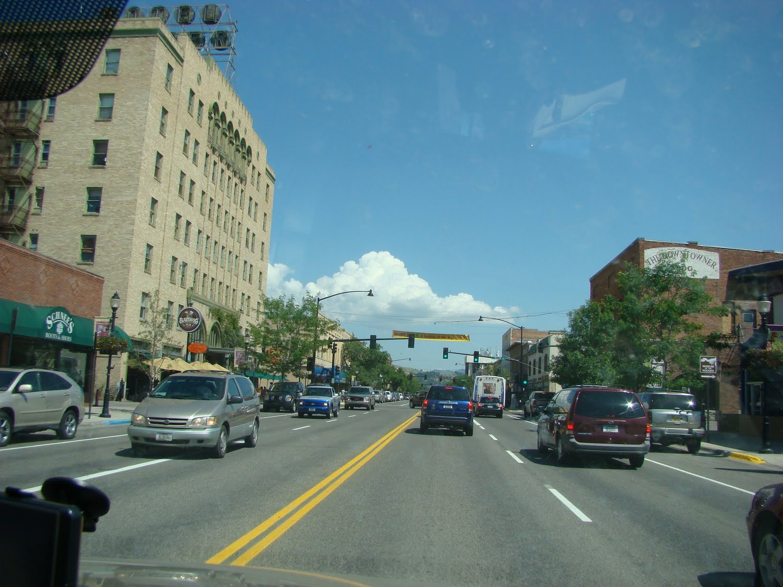 Shopping In Bozeman Mt >> Curt & Yvonne's Excellent Road Trip: Tuesday August 3rd ...