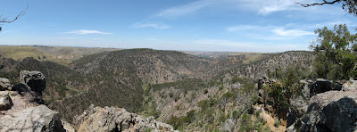 Falcon's Lookout - Werribee Gorge State Park