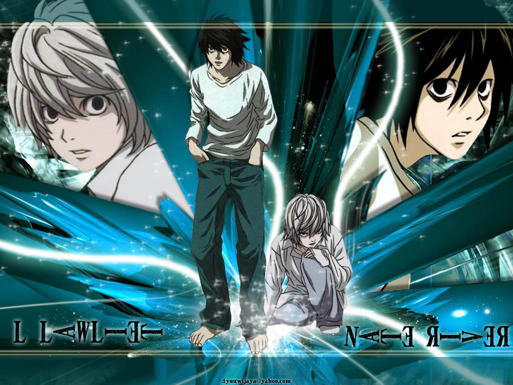 Walls Animes: Death Note Wallpapers 2