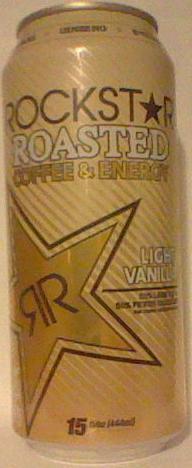 Caffeine King Rockstar Roasted Light Vanilla Energy Coffee Review