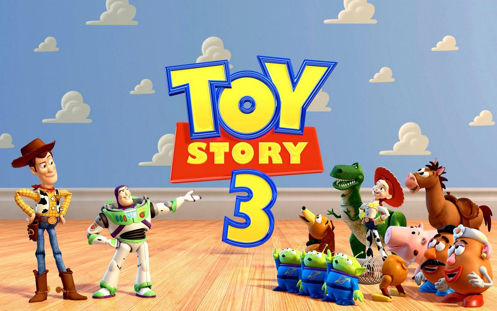 Troy's Bucket: Toy Story 3