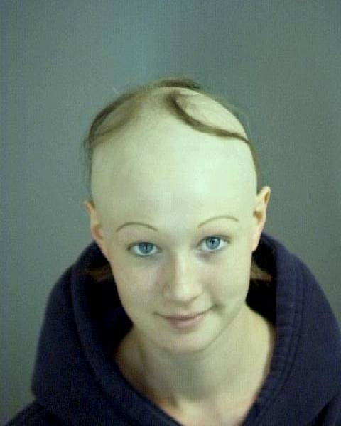 Marvelous 15 Most Scary And Ugliest Woman Crazy Pics Short Hairstyles Gunalazisus