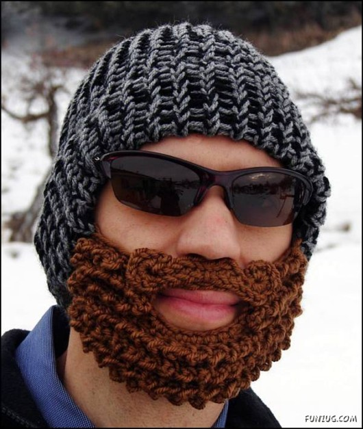 b0a25a06e4c Your Hairstyle Fashion  Craziest Beard Head Knit Caps