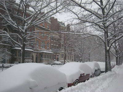 Snowy Boston