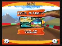 captura de tela do jogo crash nitro kart 6
