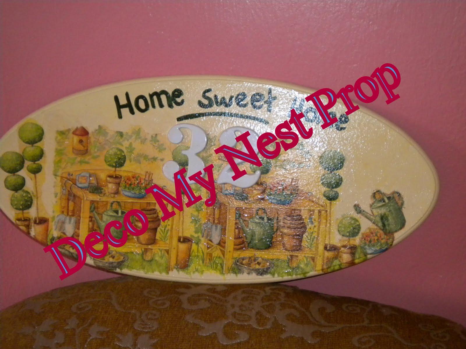 deco my nest u 39 r one stop online home deco shop decoupage. Black Bedroom Furniture Sets. Home Design Ideas