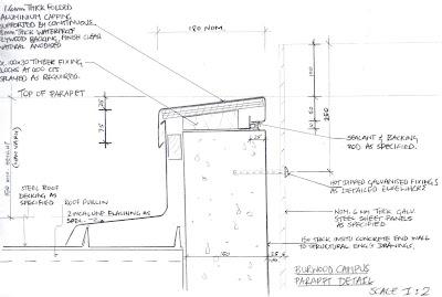 Laura S Construction Blog Parapet Detail