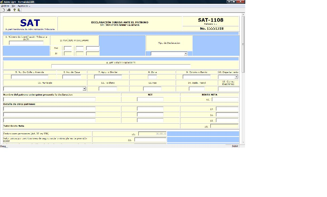 formulario 1101 sat