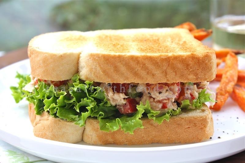 Aninimal Book: Seasaltwithfood: Tuna Salad Sandwiches