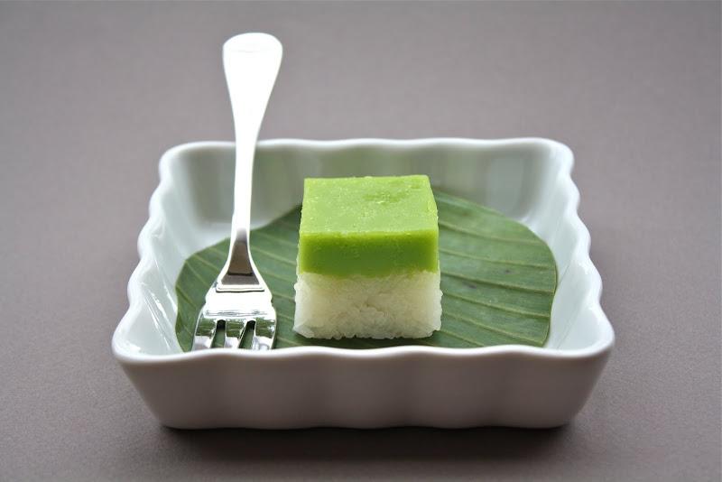 Pandan Layer Cake Calories