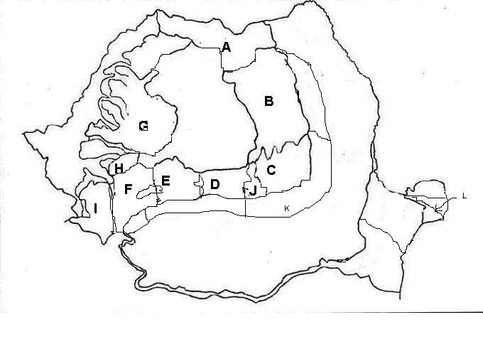 Testelageo Test Cu Harta Geografia Romaniei