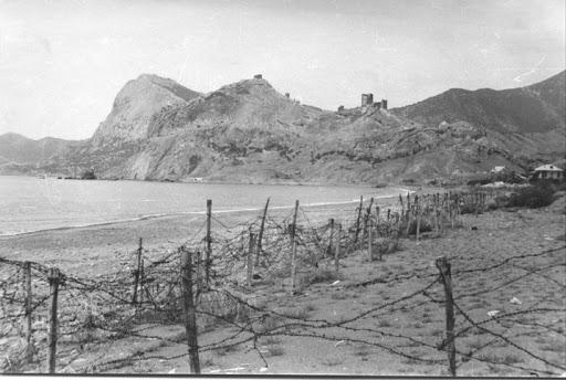 Судак. Вид на генуэзскую крепость