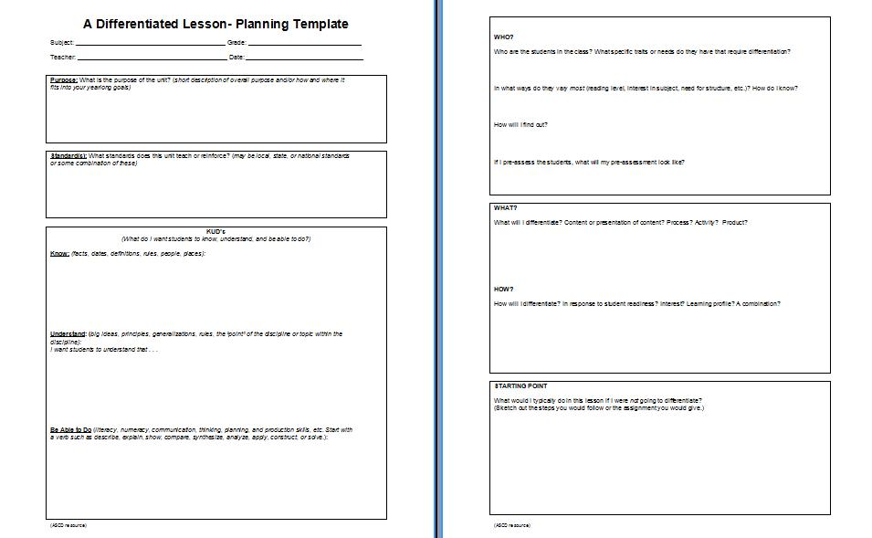 Adrian 39 s thoughts on education k u d vs 4mat for Learning cycle lesson plan template