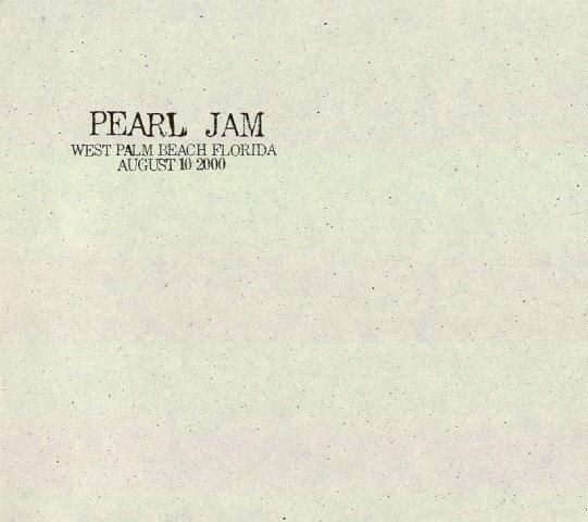 rearviewmirror pearl jam live pearl jam west palm beach florida august 10 2000. Black Bedroom Furniture Sets. Home Design Ideas