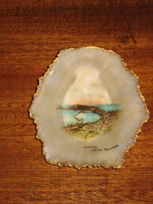 A concha de uma lapa (recordação dos Açores)
