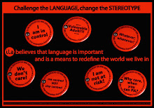 Challenge the language
