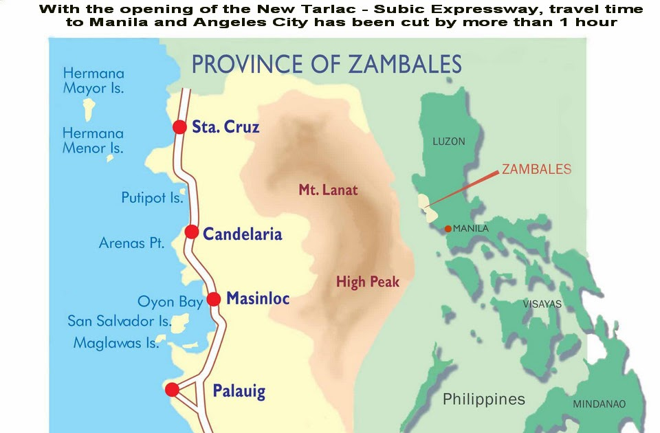 Zambales And Its Wonderful Places Wondering Things