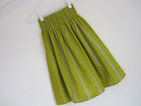 Voile pastry line skirt