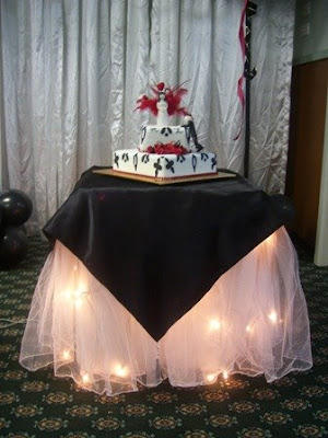 Tana S Blog The Cake Table Matches The Bridal Table The Unironed