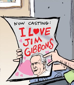 Jim gibbons, divorce