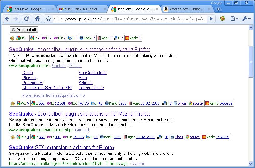 Install SEOquake - Chrome Web Store - Google