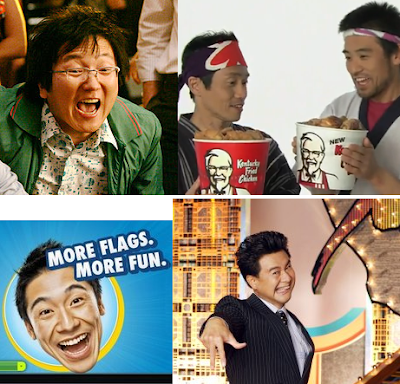 Asians portrayed in American pop culture.