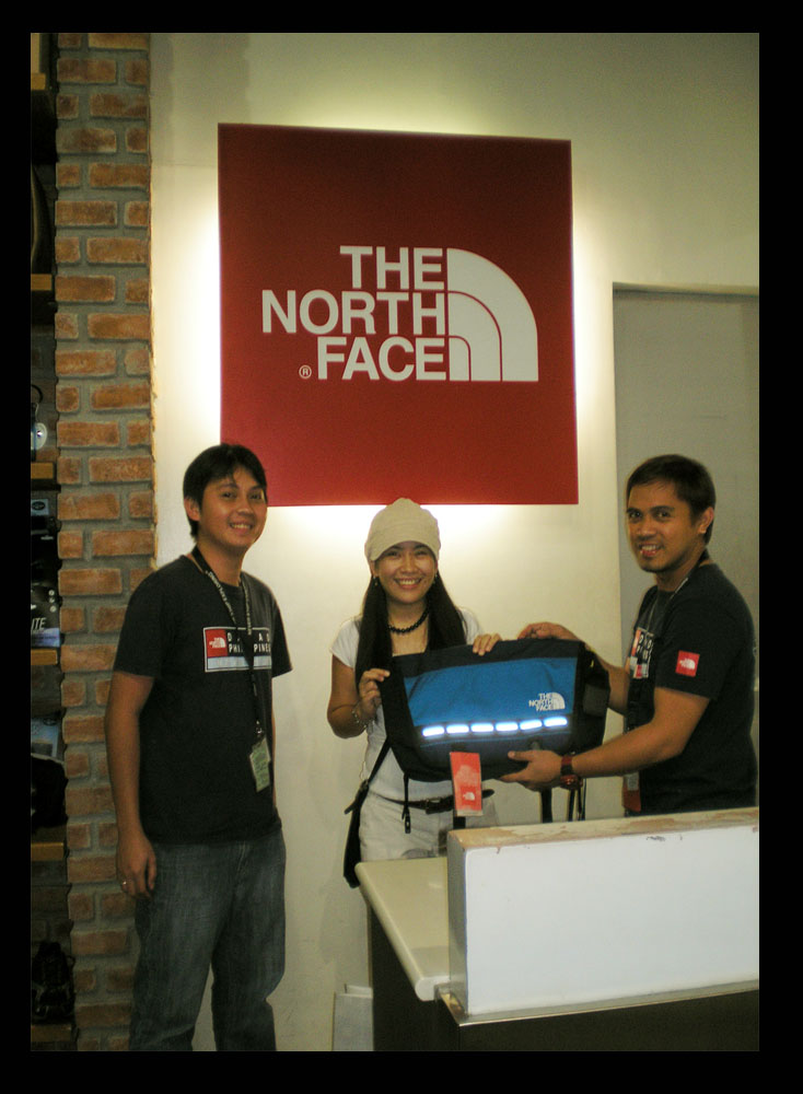 bags, Contest Promos and Winnings, prize, R.O.X Philippines, the north face