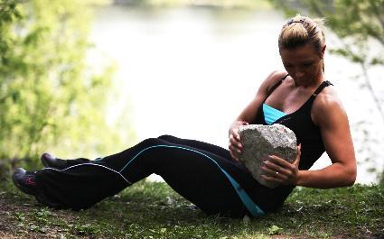 träna djupa magmuskler övningar
