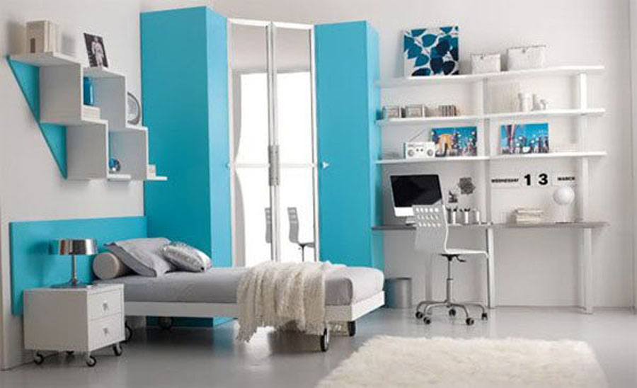 Stylish Bedroom Design Ideas For Teenage Girls