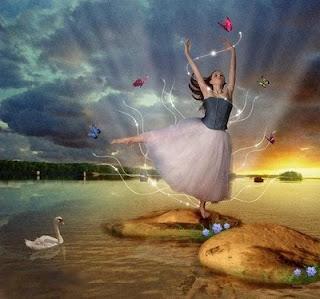 mujer bailarina+dia de primavera