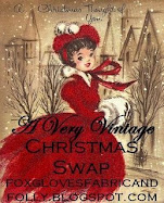 A Very Vintage Christmas Swap