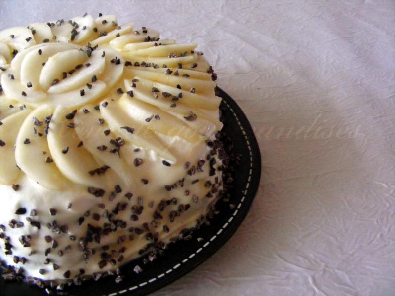 Recette Cake Poire Chocolat Specilooscroquant