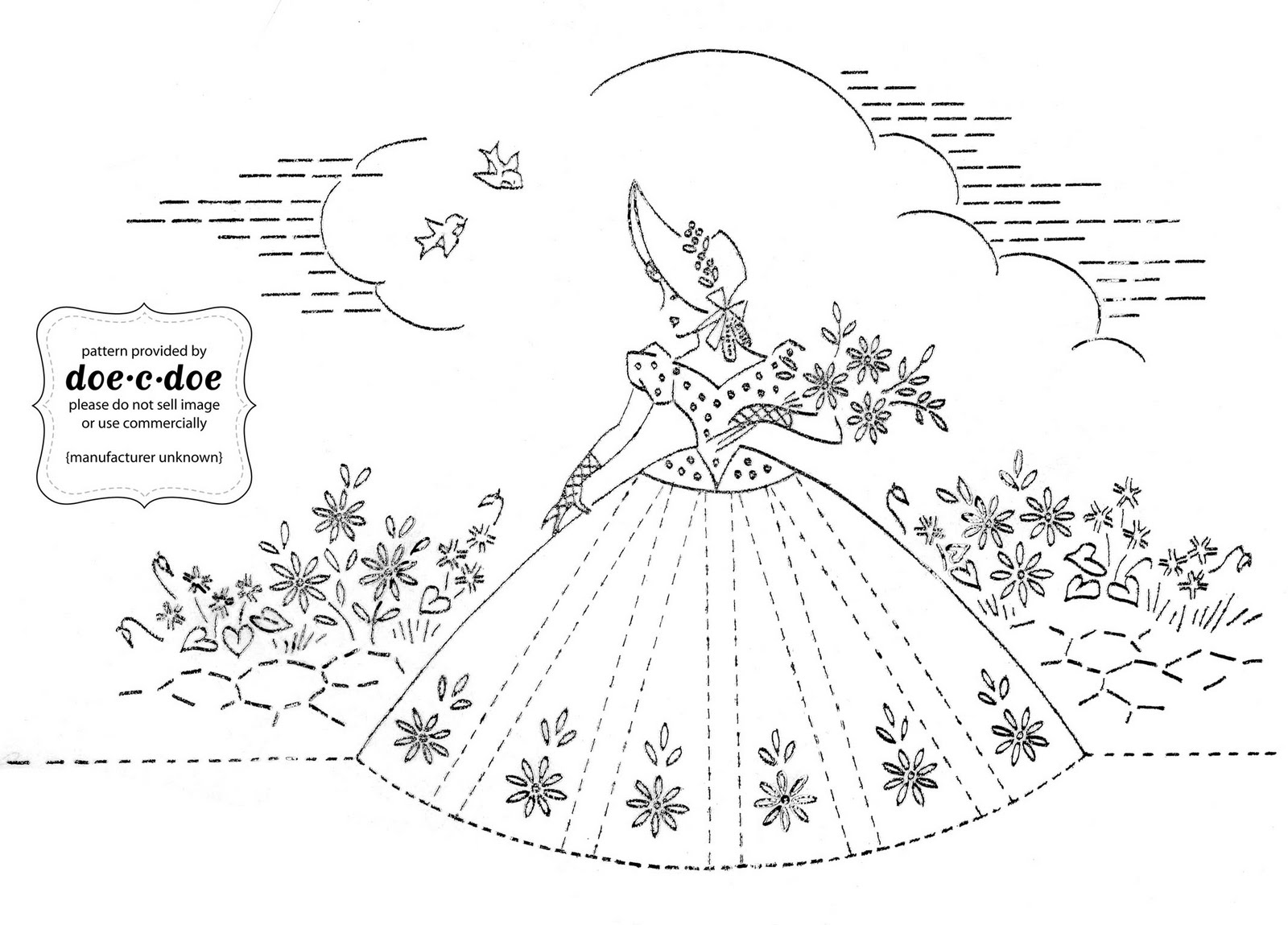 Free Vintage Embroidery Transfers 37