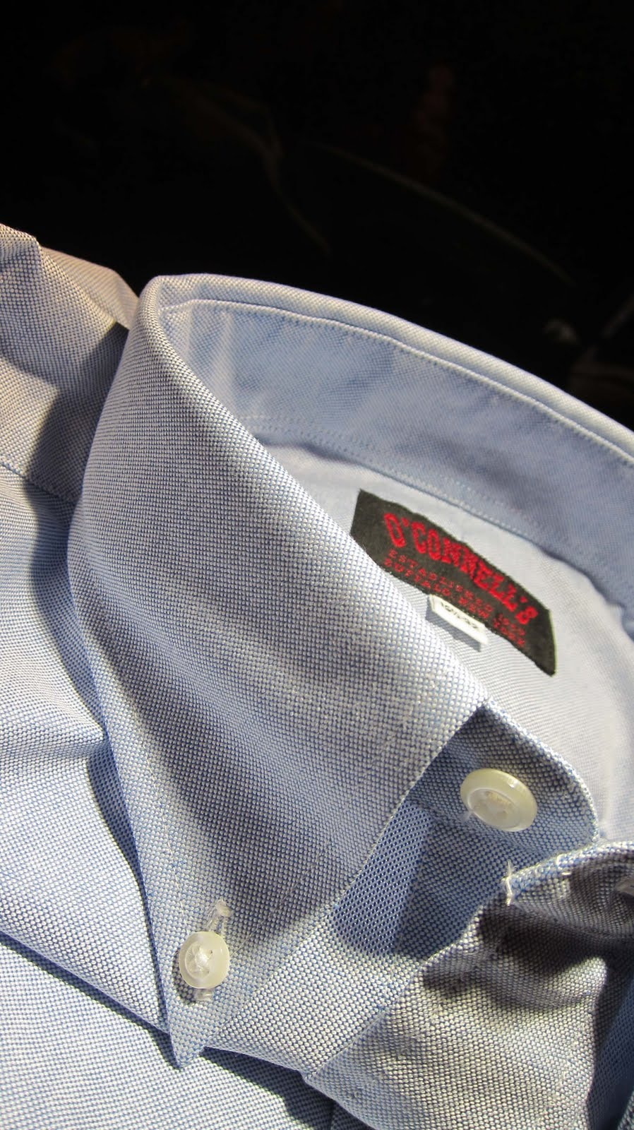 24bf516ac0 The Trad: Off My Back: O'Connells Oxford Shirt