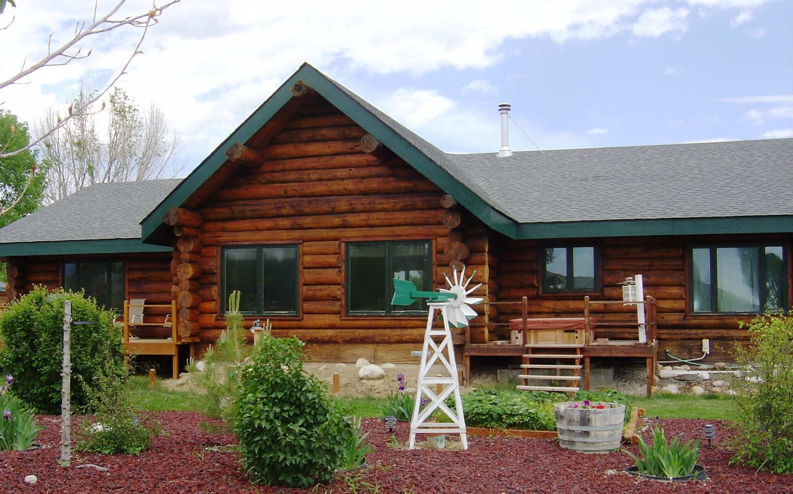 Log and wood siding care for Wood siding designs
