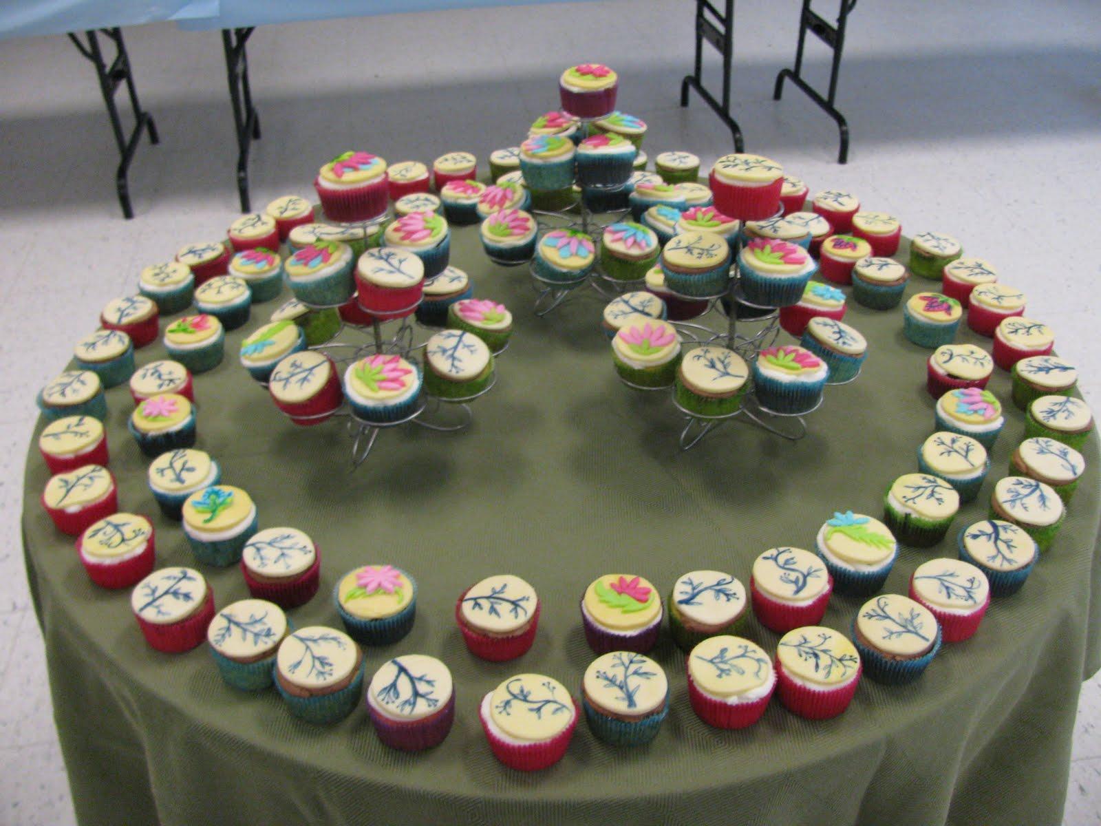 Homemade By Heather 33 Retirement Cupcakes Spring Flowers