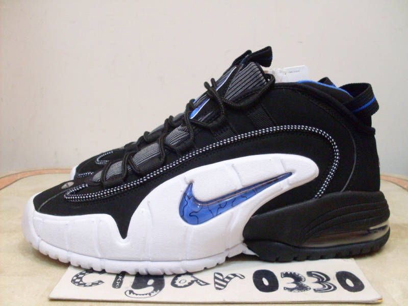 "on sale bef33 0e12e Nike Air Max Penny 2010 Retro – Black Varsity Royal-White. Anfernee ""Penny""  Hardaway recently made sports headlines when he announced his intentions to  ..."