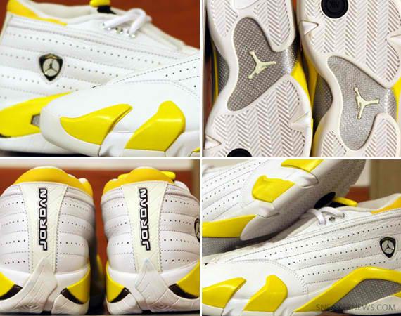 TRS Blog  Air Jordan XIV (14) Low WMNS – White – Varsity Maize ... 558eb20a20c5