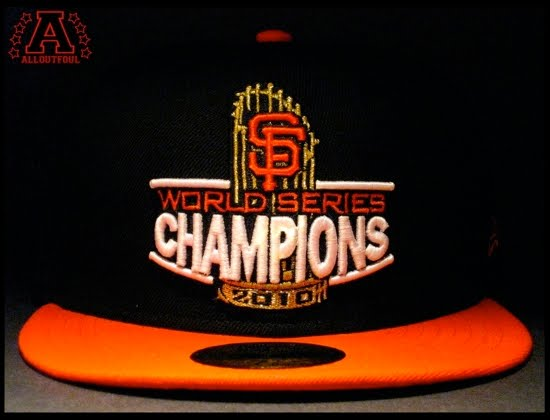 ae208a52ad43f Celebrate the SAN FRANCISCO GIANTS  2010 World Series victory with the  World Series Champion fitted cap. This 59Fifty features the World Series  trophy with ...