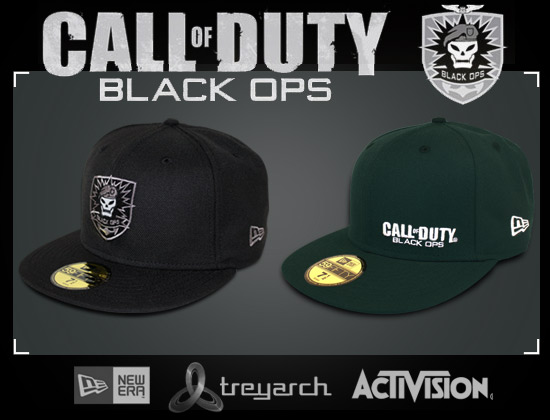 5f146c53f43 NEW ERA x ACTIVISION「Call Of Duty  Black Ops」Ltd Ed. 59Fifty Fitted Caps