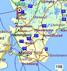 karta båstad Martins dagar: Båstad karta båstad