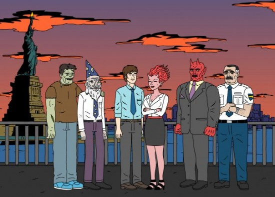 Scribble Junkies Zombieland And Ugly Americans