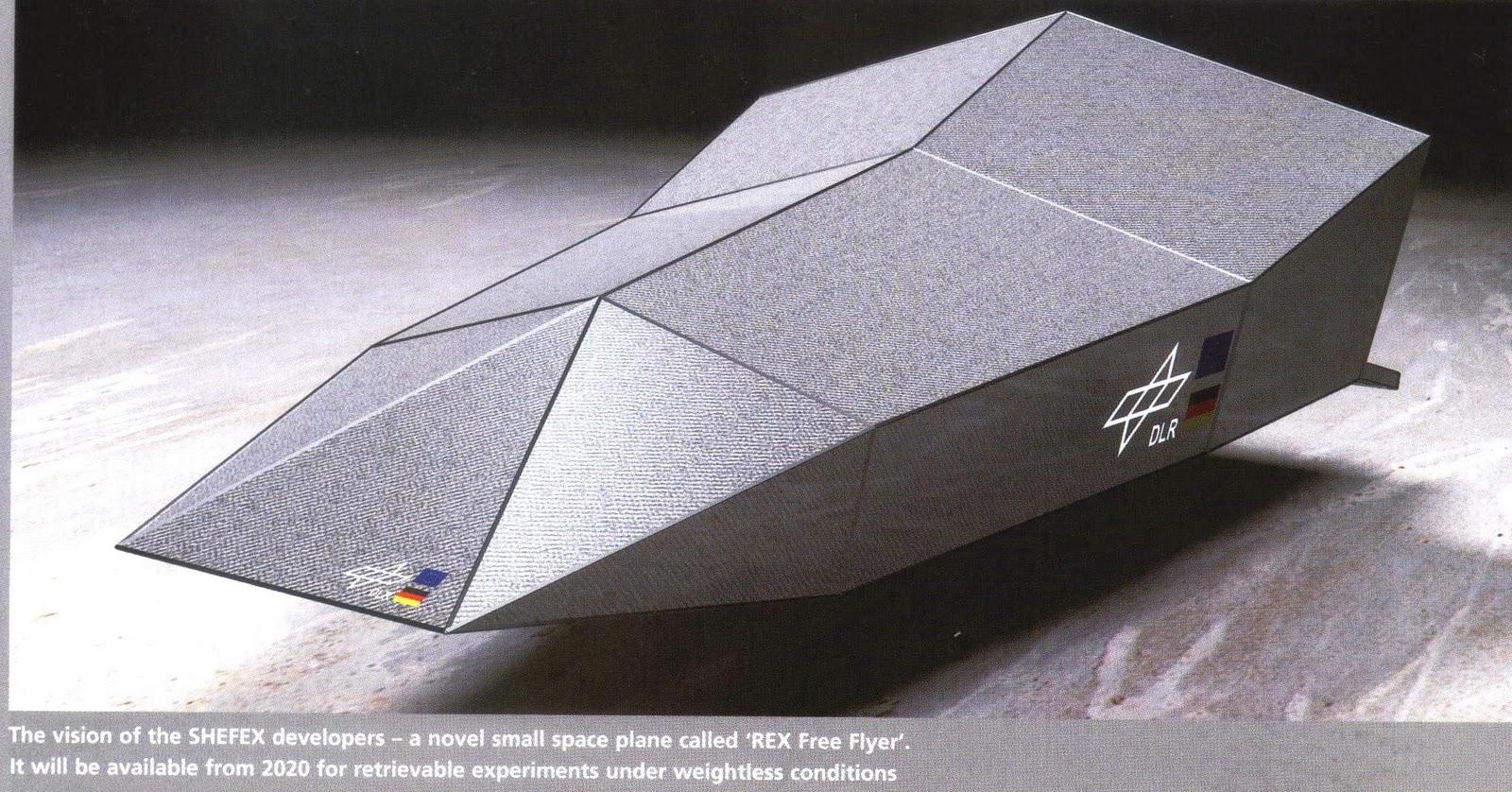 unpowered glider space vehicle - photo #2