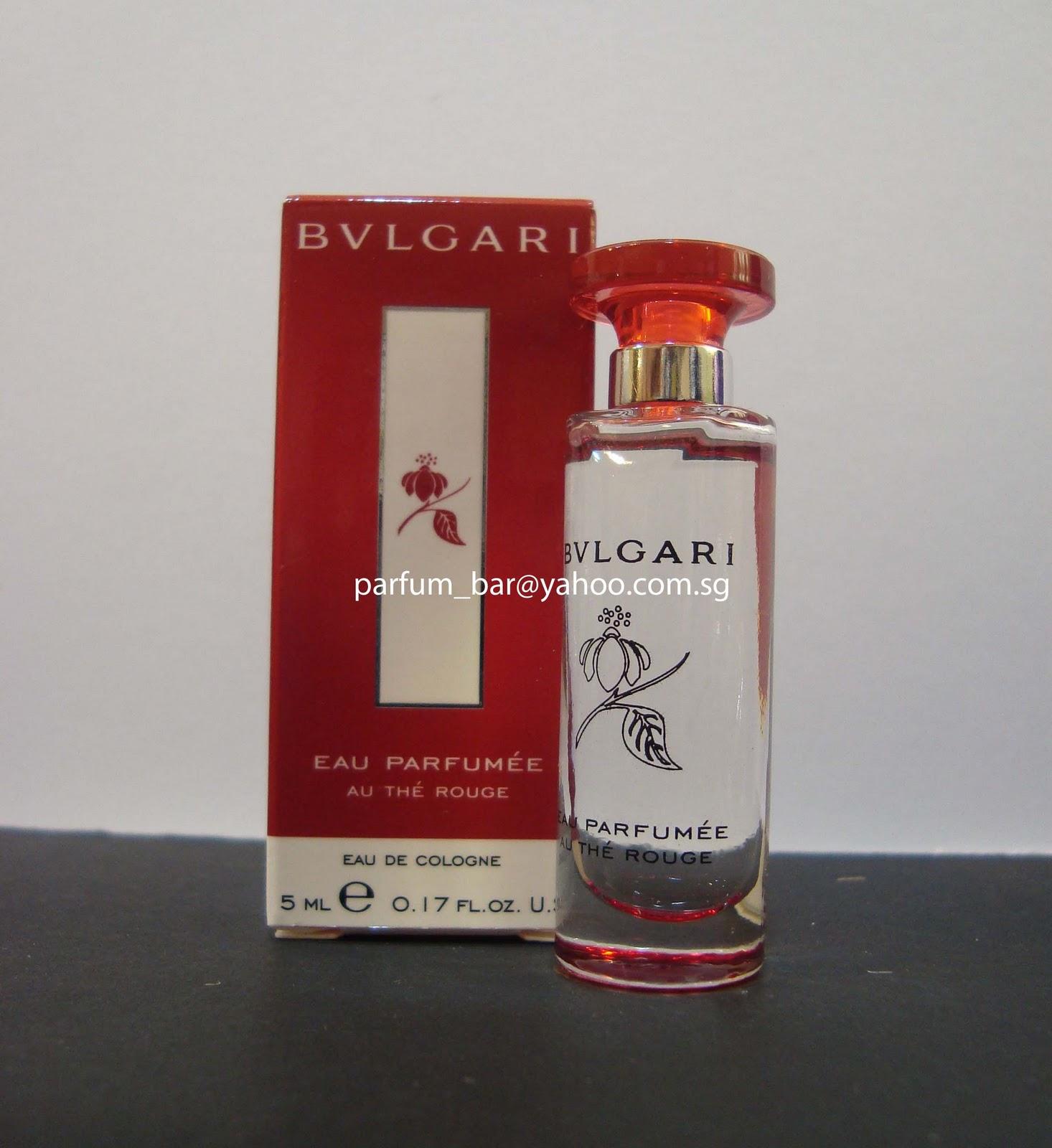 Parfum Bar Bvlgari Eau Parfumee Au The Rouge